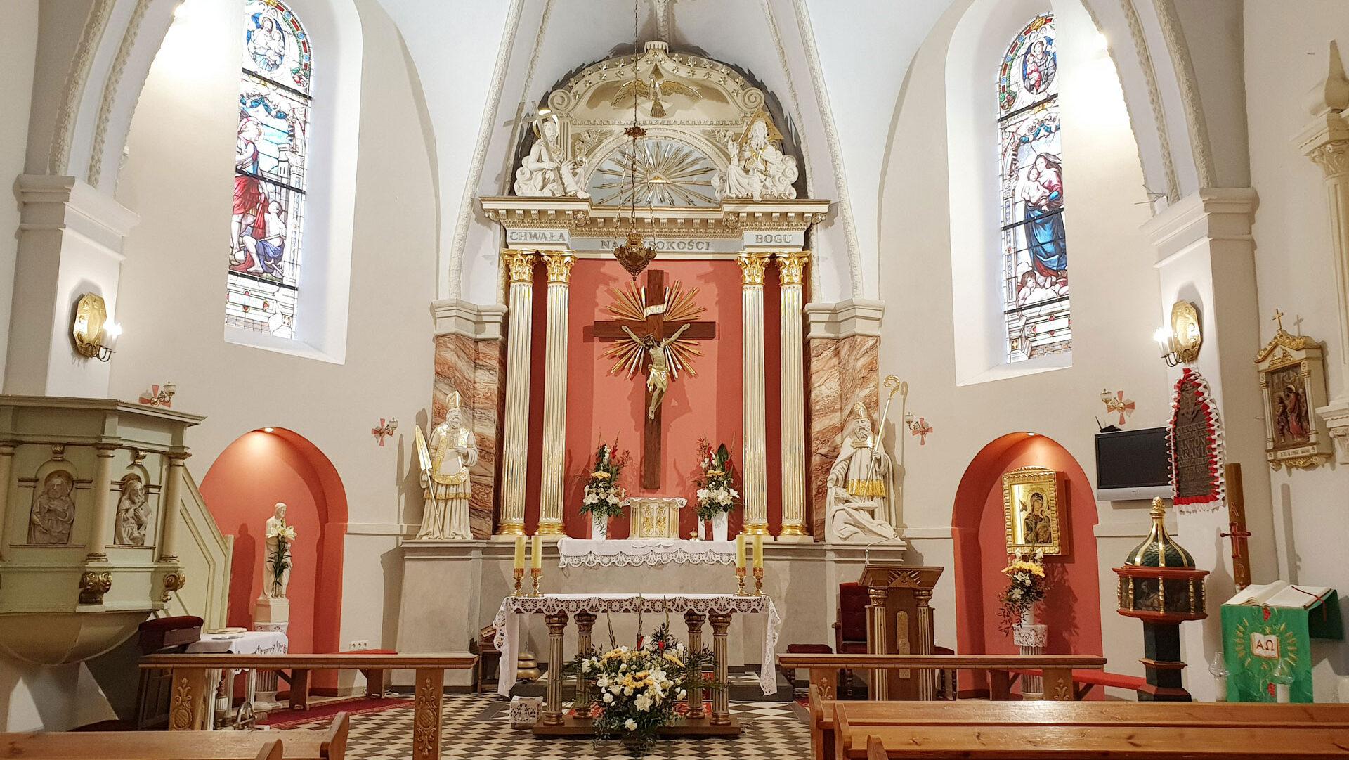 Parafia Rzymskokatolicka pw.św. Marcina Bpa w Mchach